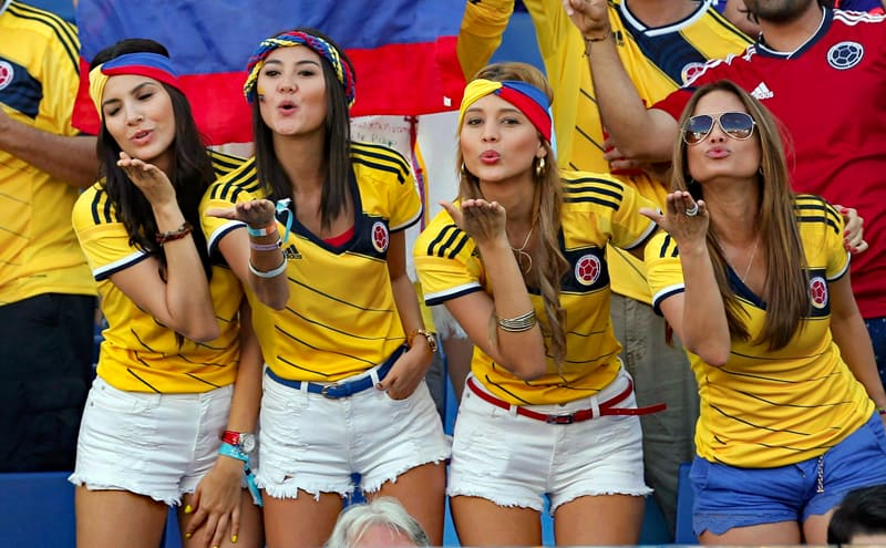 women from colombia