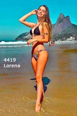 Lorena in Rio Coacabana